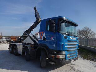 SCANIA R440 8X4 RETARDER EURO-5 hook lift truck