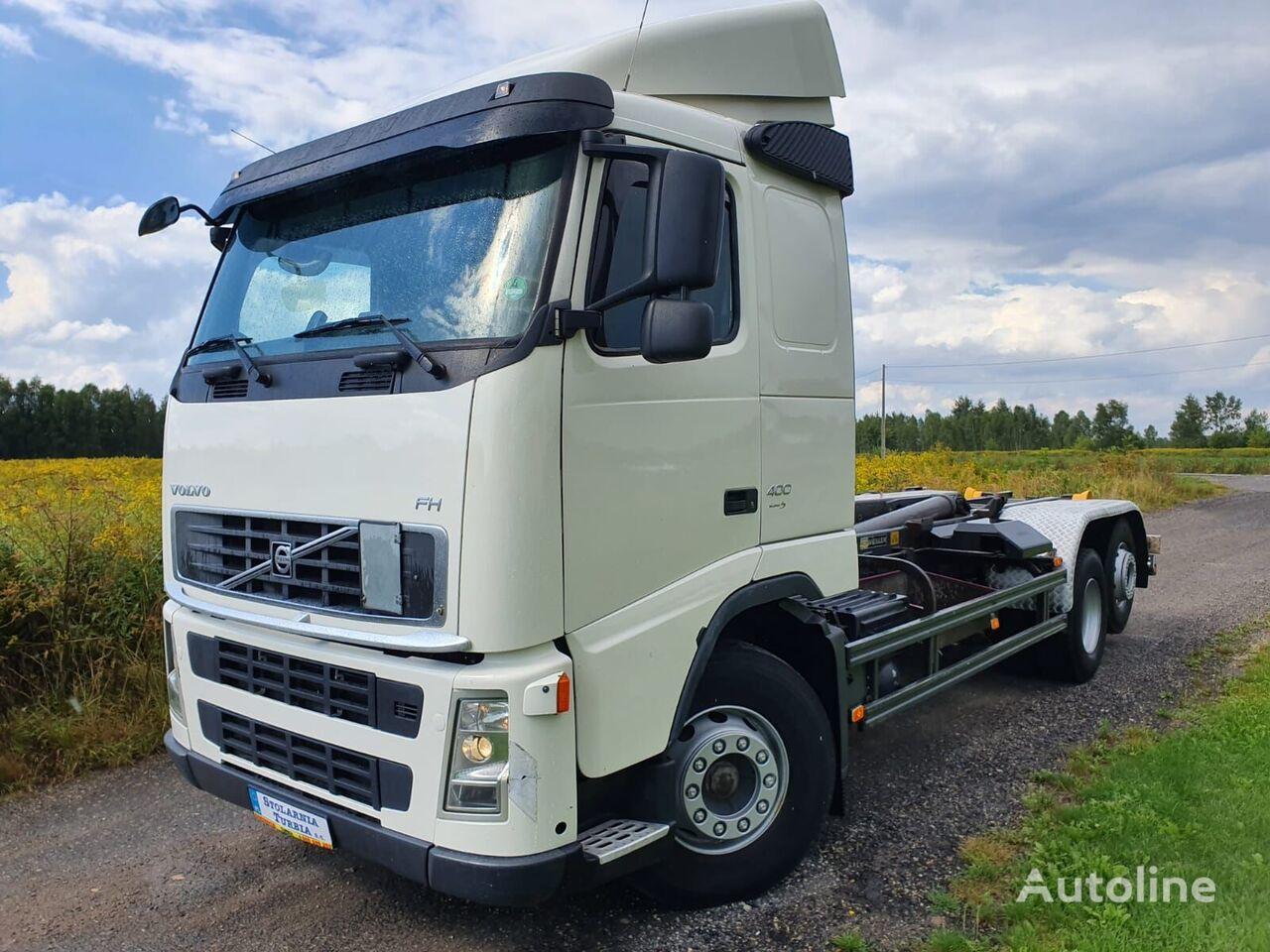 VOLVO FH 400 urządzenie hakowe Meiller hook lift truck