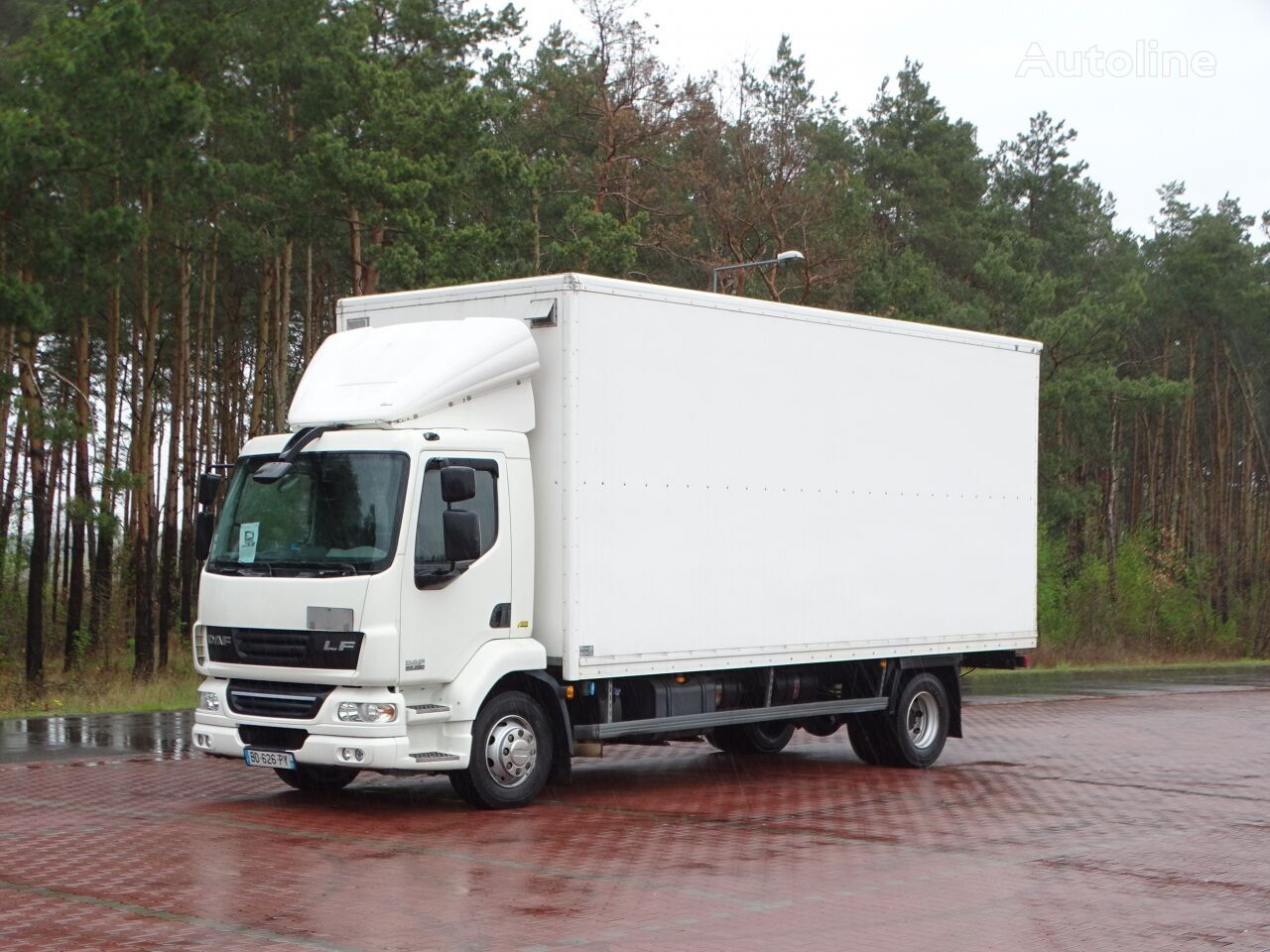 DAF LF 55.280  isothermal truck