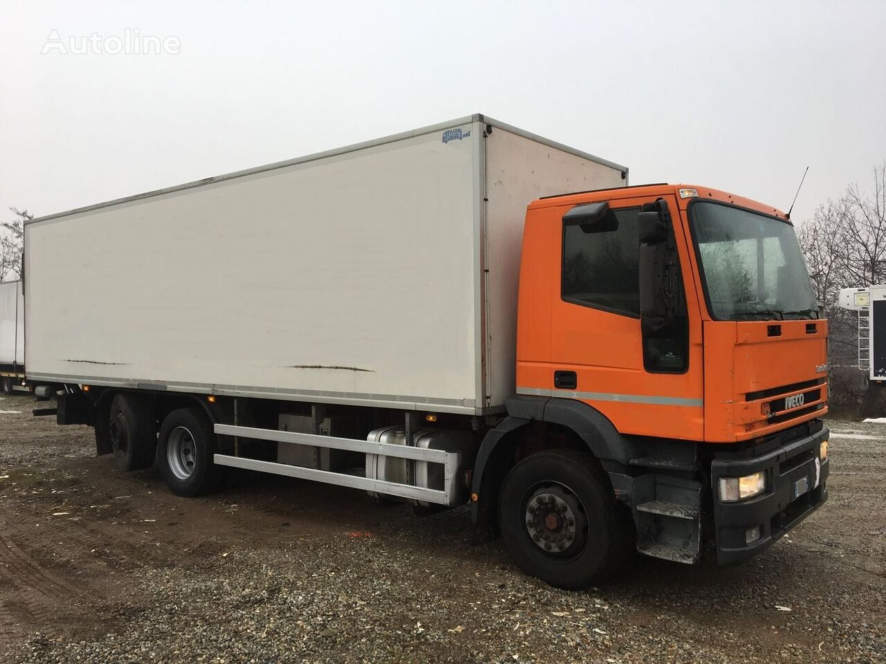 IVECO Eurotech 240E31 isothermal truck