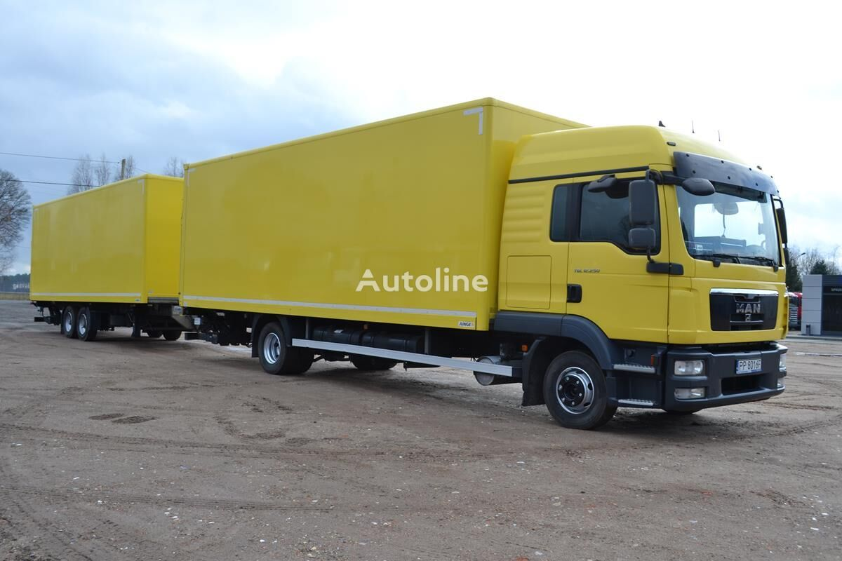 MAN TGL 12.250 2011 Cointiner Lift  isothermal truck + isothermal trailer