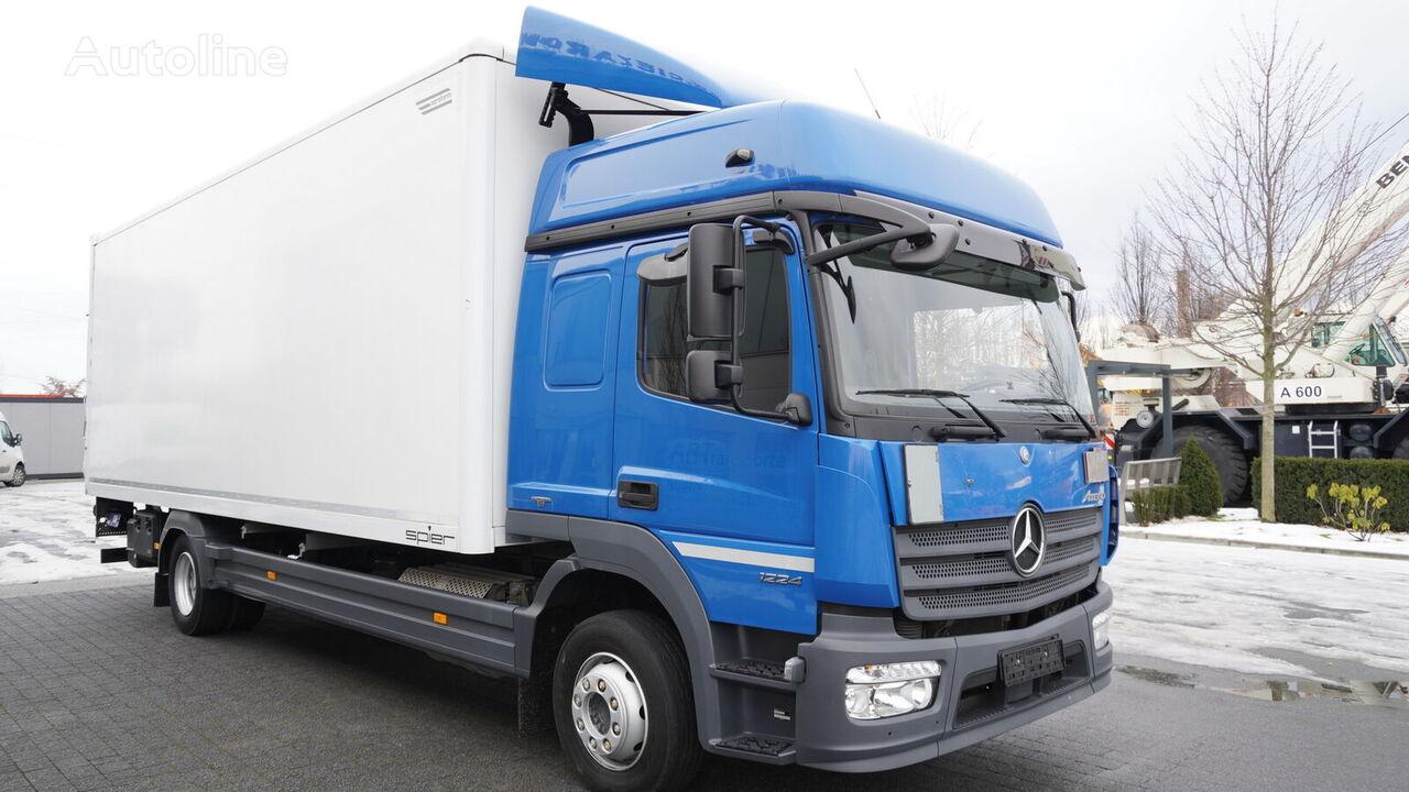 MERCEDES-BENZ Atego 1224 , E6 , 4x2 , retarder , 18 EPAL , Glob cab , tail lif isothermal truck