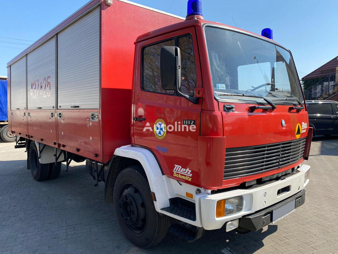 MERCEDES-BENZ DB 1117 isothermal truck