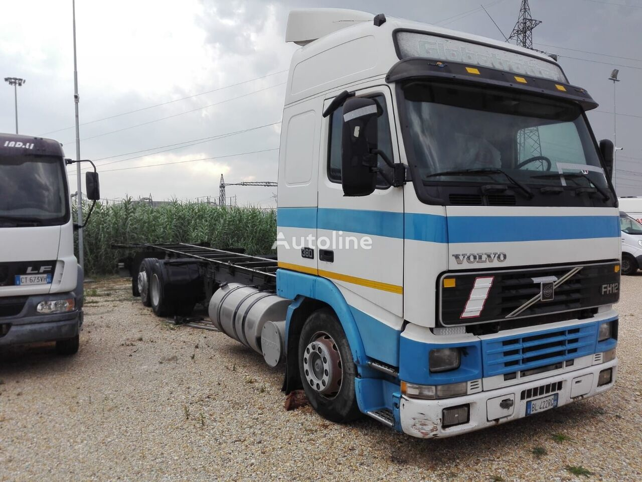 VOLVO FH 12 380 isothermal truck