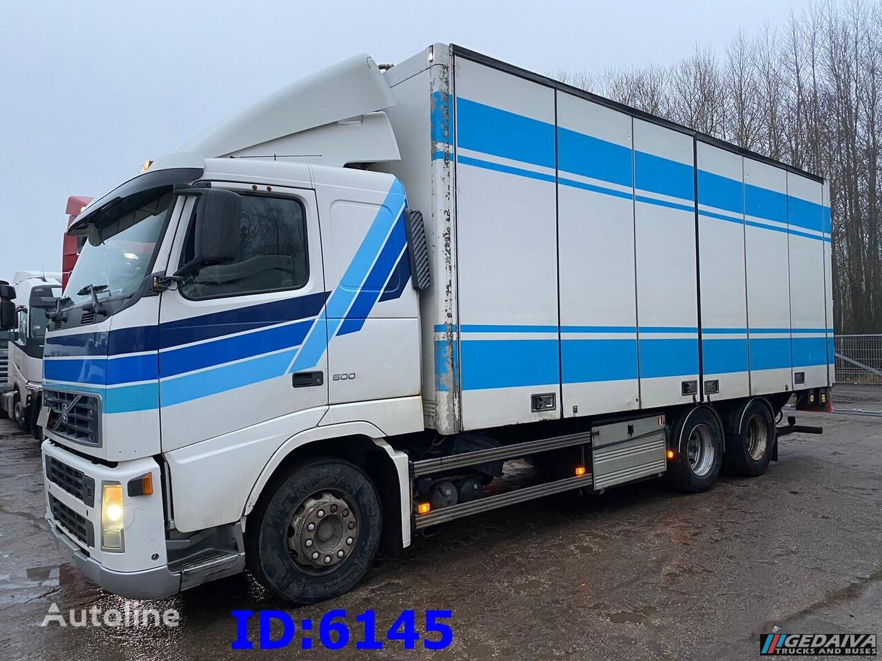 VOLVO FH12 500 - 6x2 - Manual isothermal truck