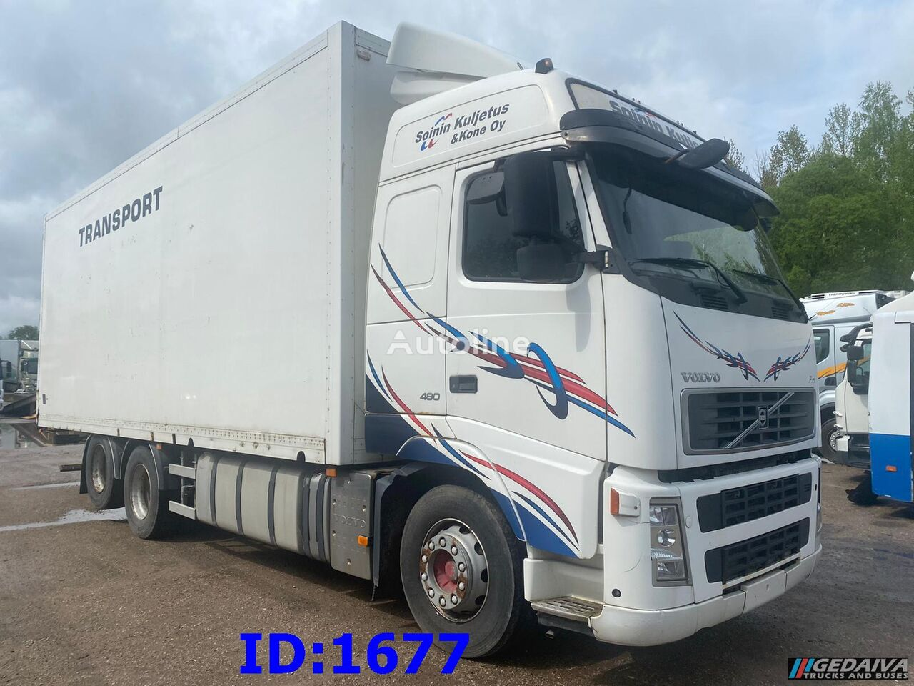 VOLVO FH13 480 - 6x2 - 10 tyre - Steel front isothermal truck