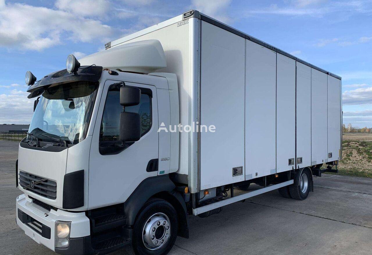 VOLVO FLL 280hp 18euro palečių isothermal truck