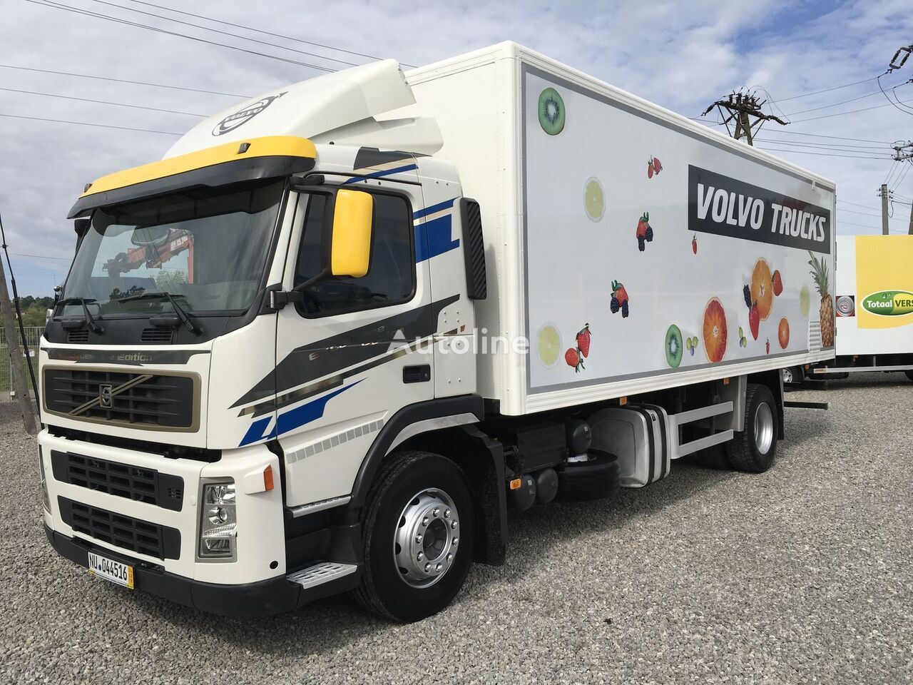 VOLVO FM FH FL FE 9 isothermal truck