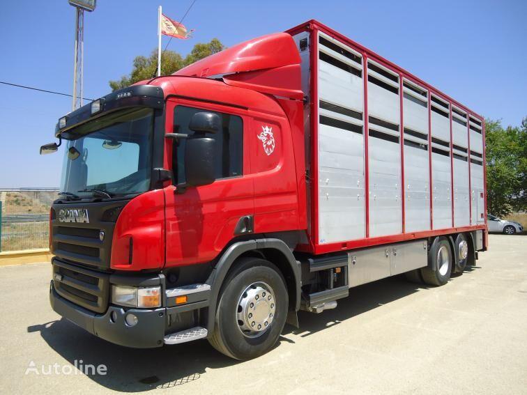 SCANIA P 380 livestock truck