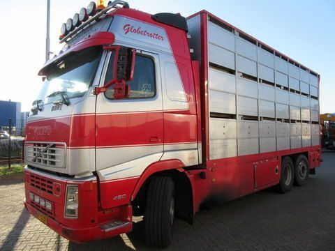 VOLVO FH12 6X2R FAL8.0 RADT-A8 HIGH livestock truck