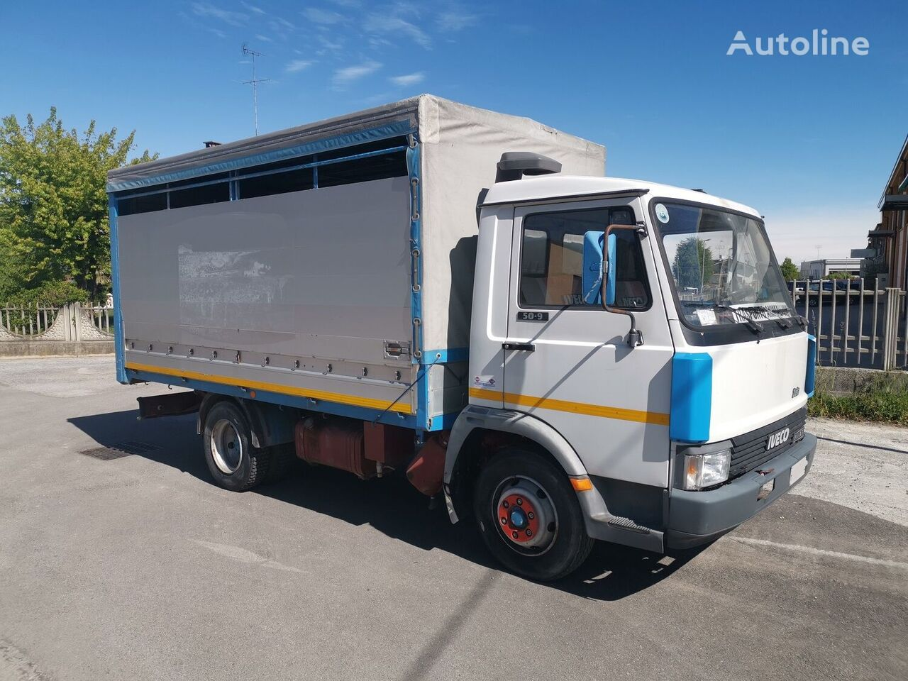 IVECO ZETA 50.9 Trasporto Animali Vivi livestock truck