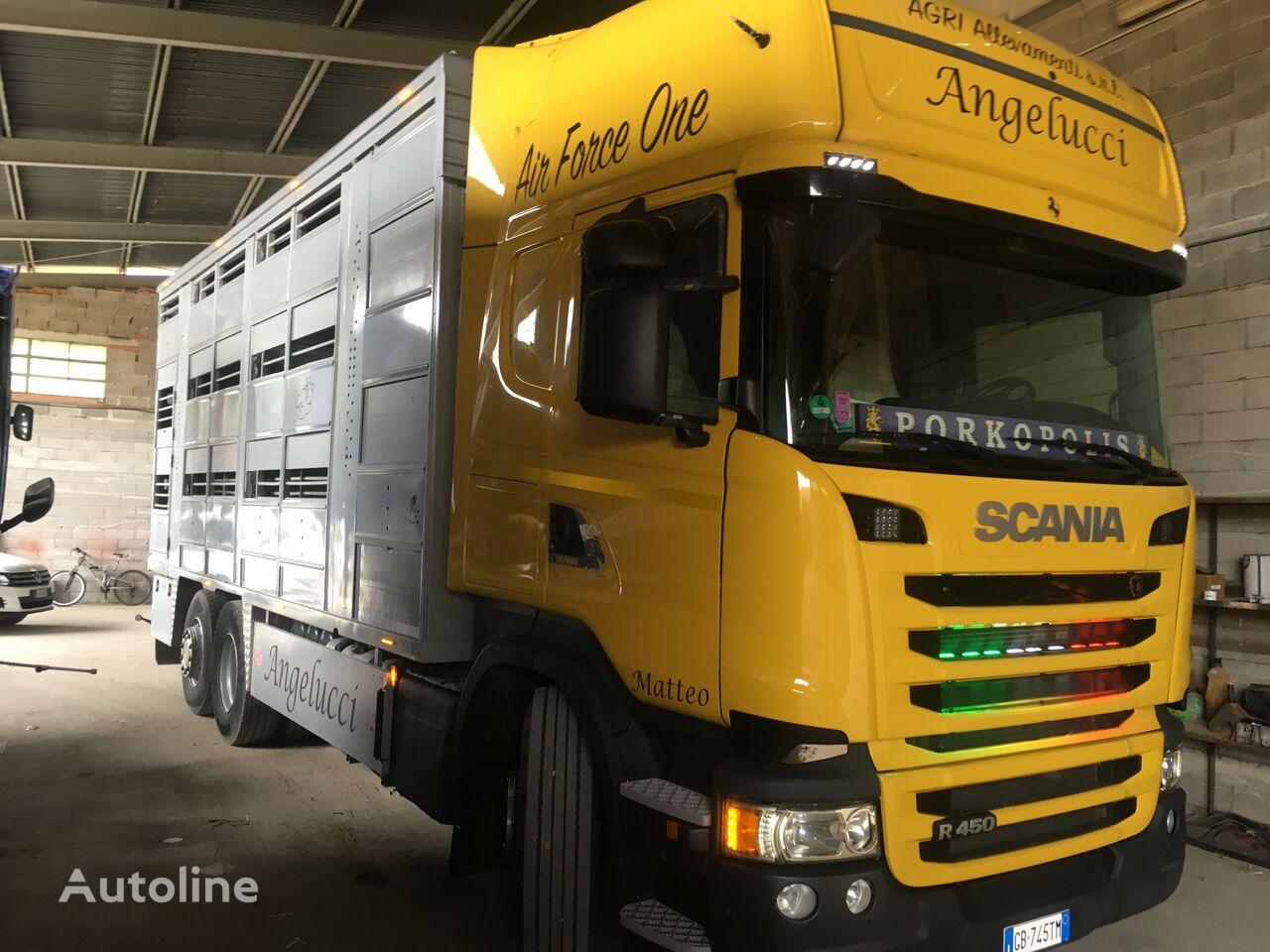 SCANIA R 450 livestock truck