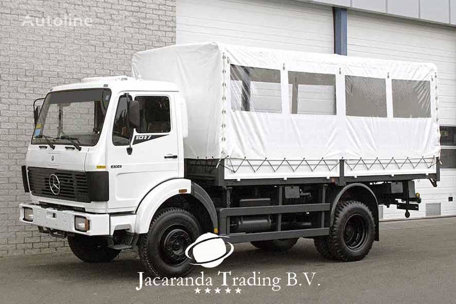 MERCEDES-BENZ 1017 military truck