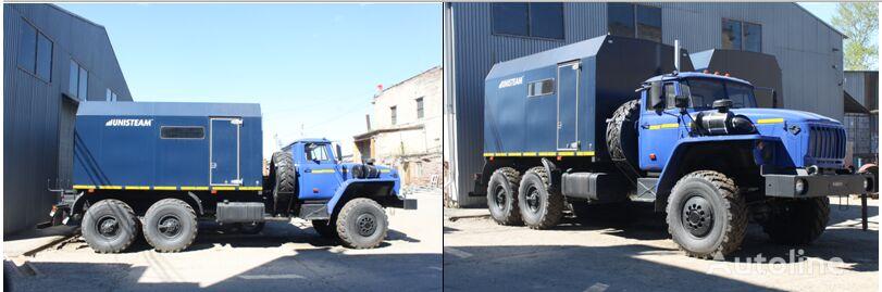 new URAL Paropromyslovaya ustanovka PPUA-1600/100 na shassi Ural 4320 military truck