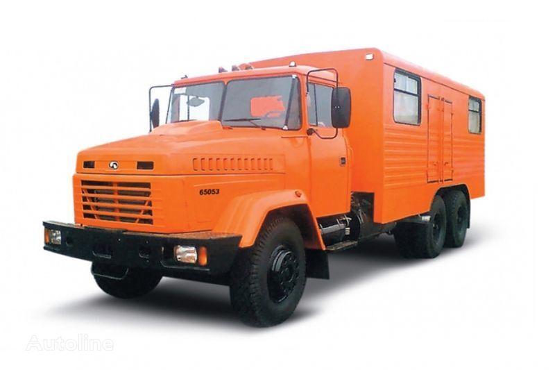 new KRAZ 65053 masterskaya  military truck