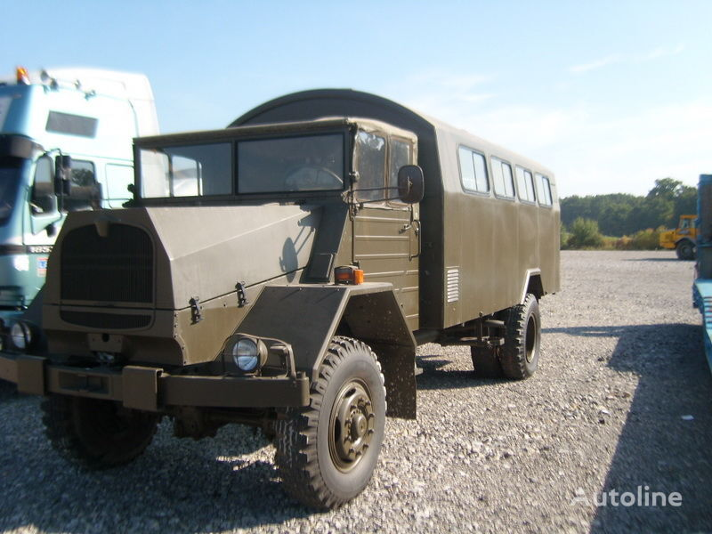 MAN 630.2 military truck