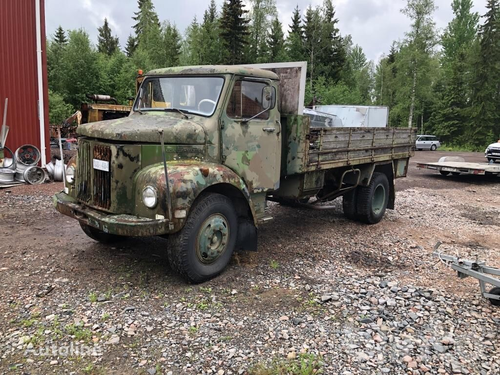 SCANIA Vabis military truck