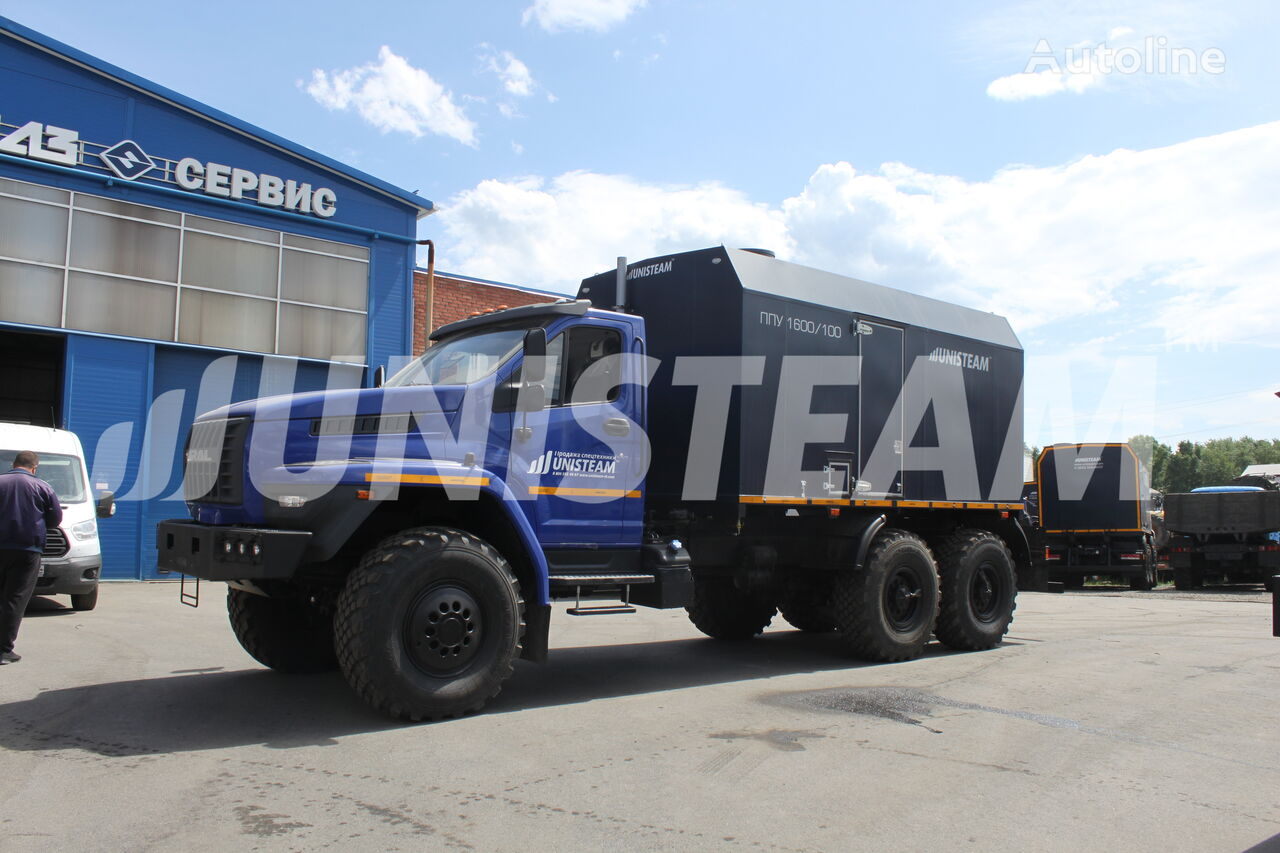 new UNISTEAM PPUA 1600/100 serii UNISTEAM-M1 URAL NEXT 4320 military truck