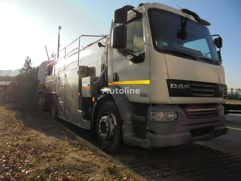 DAF LF 55 250 milk tanker