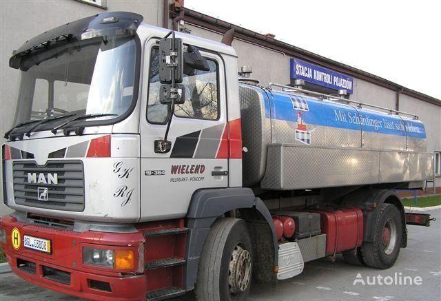 MAN 19.364 milk tanker