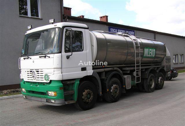 MERCEDES-BENZ ACTROS 3340  milk tanker