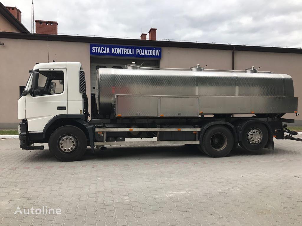 VOLVO FM 440 milk tanker