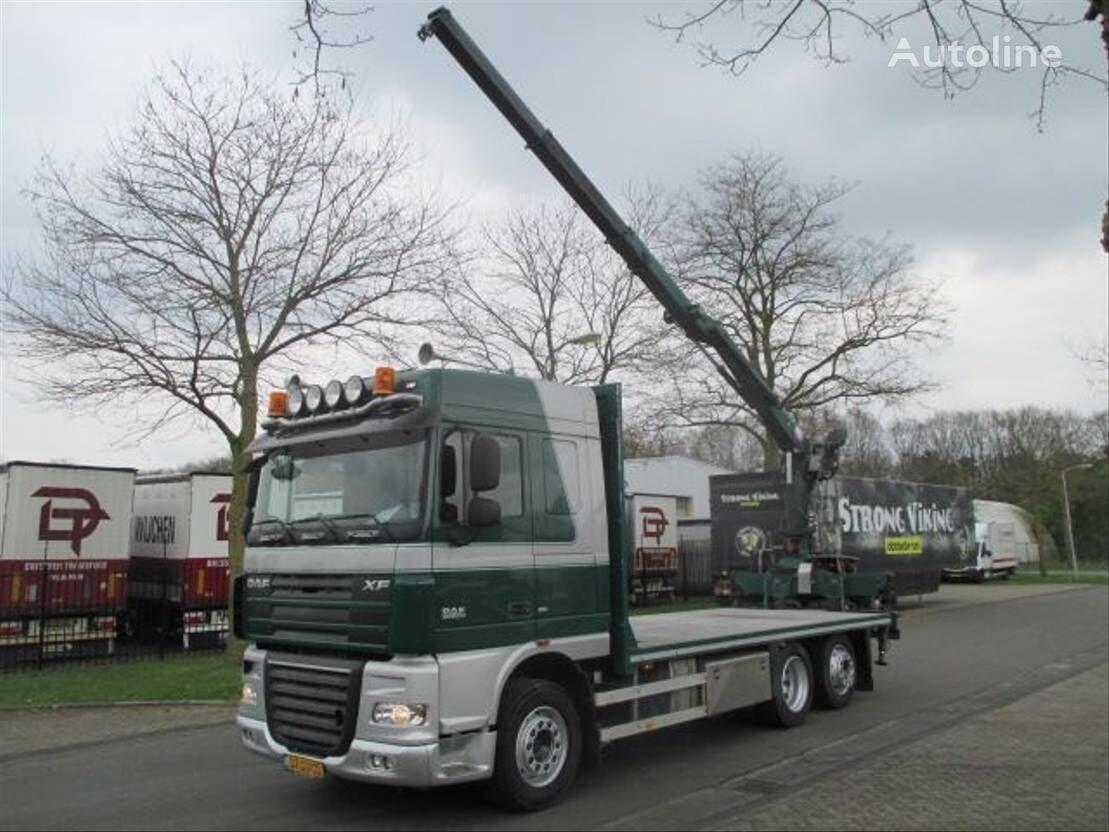 DAF XF 6x2 platform truck