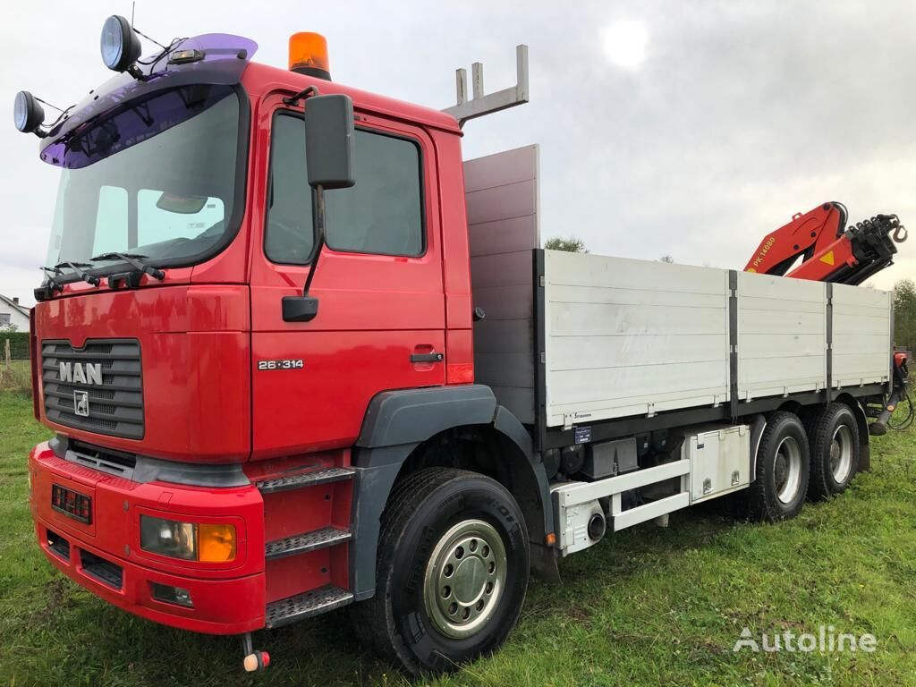 MAN F2000 26-314 TR.063 platform truck
