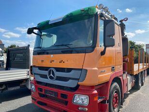 MERCEDES-BENZ 2646 6X4 FASSI F360 XP platform truck