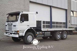 SCANIA 113 320 platform truck
