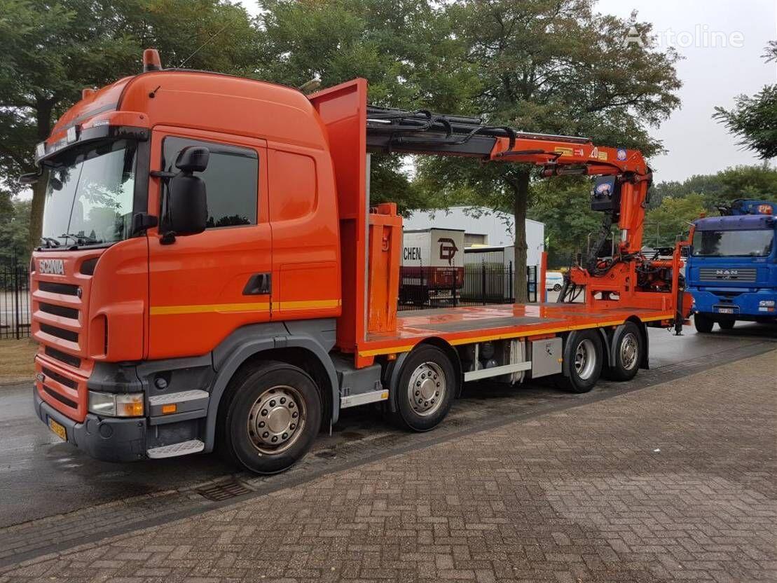 SCANIA r420  platform truck