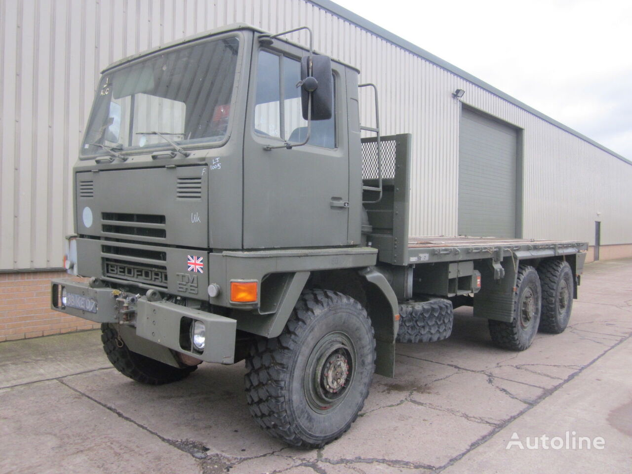 BEDFORD TM 6x6  platform truck