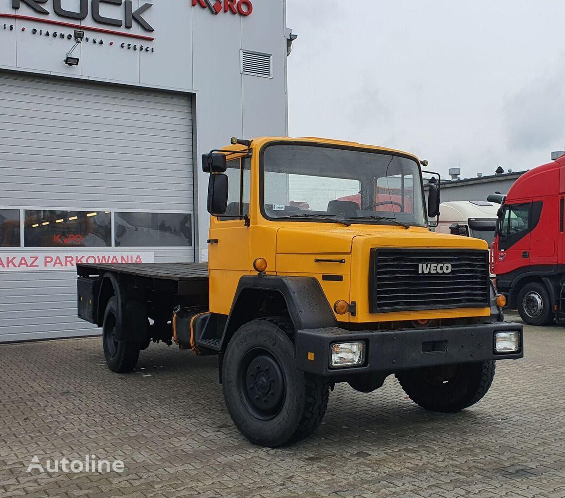 IVECO MAGIRUS 120-130,Full Steel 4x4-M platform truck