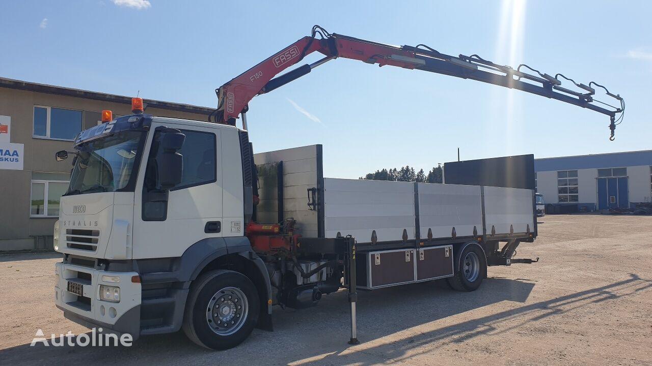 IVECO Stralis AT 190S31 4X2 platform truck