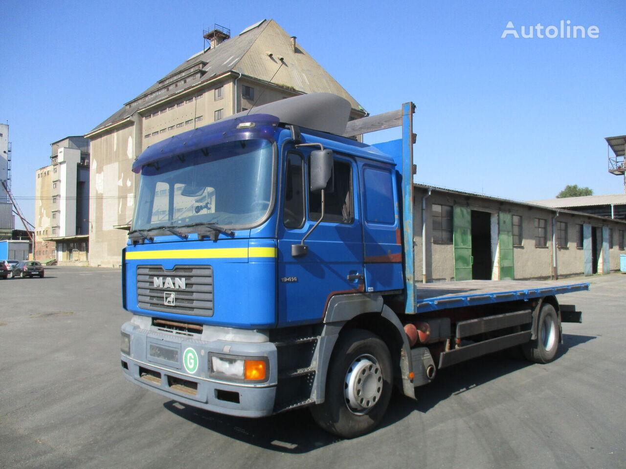 MAN F 2000 19.414...Retarder...euro2... platform truck