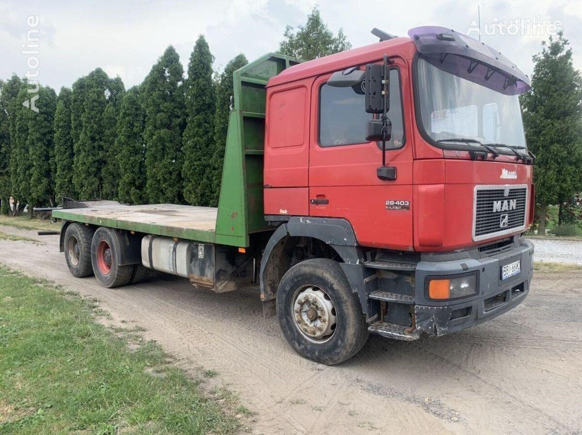 MAN F-series 26.403 6x4 F2000 platform truck