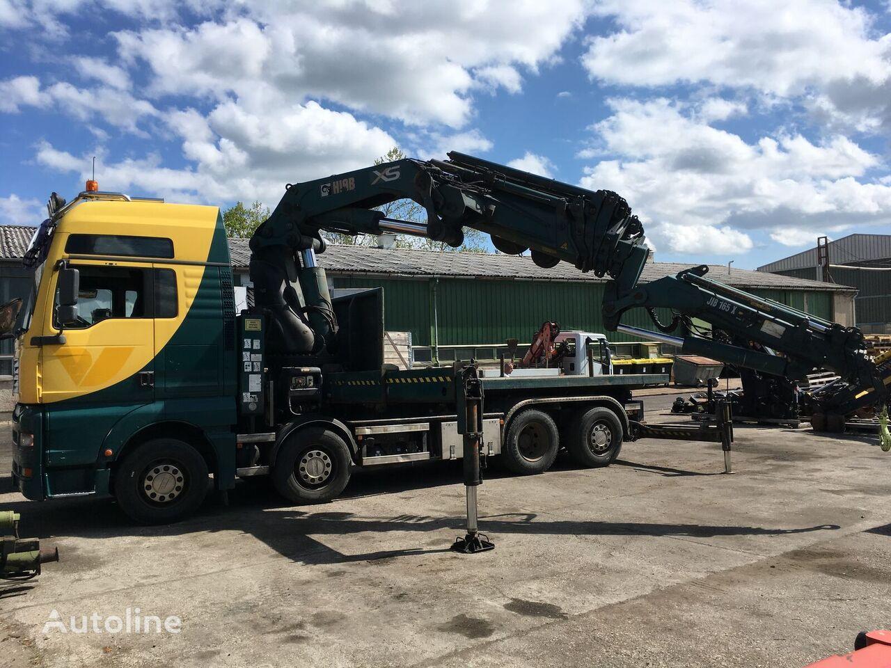 MAN TGA 35.430 8x2-4 BL platform truck