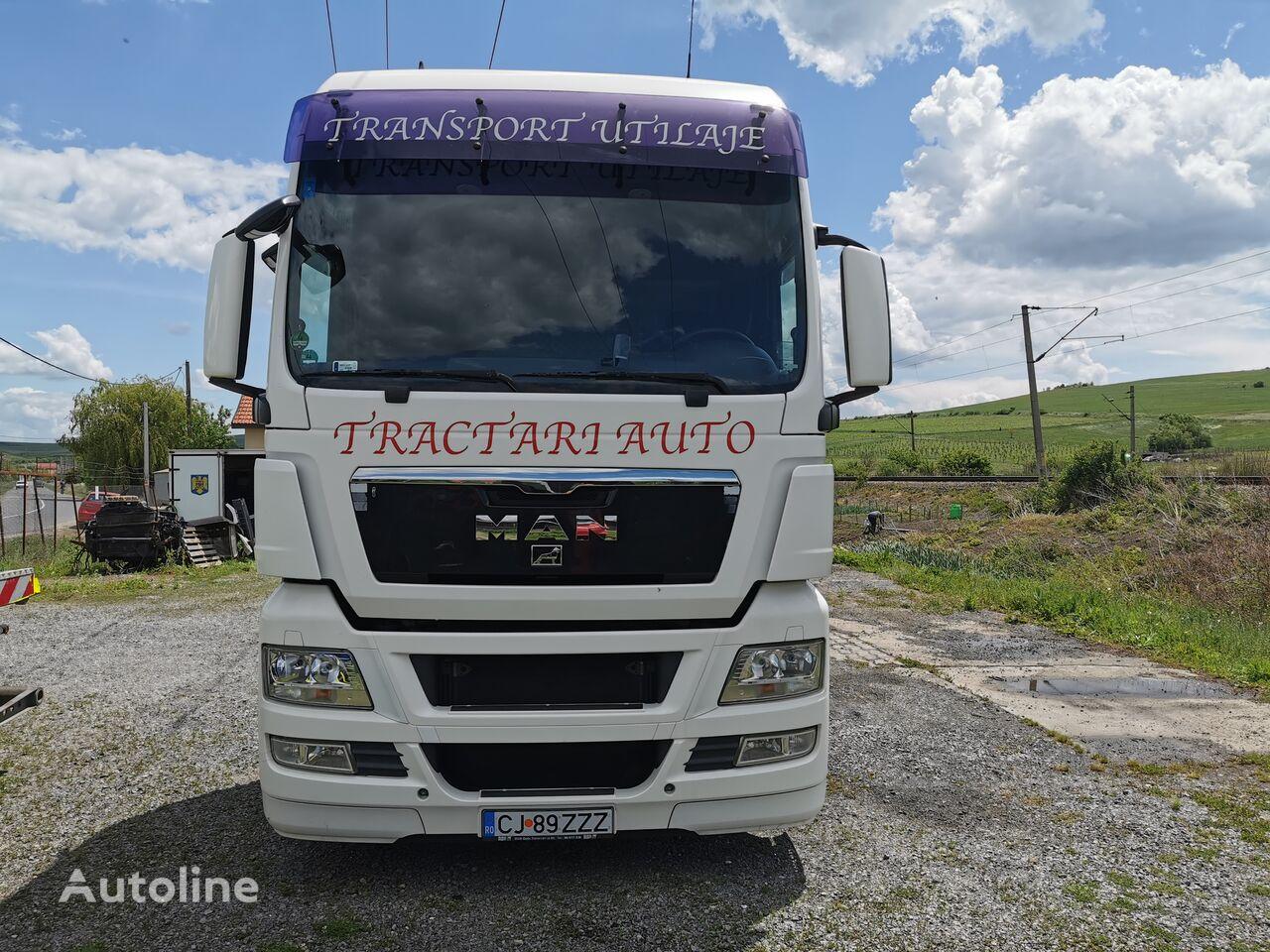 MAN TGX  26.440 platform truck