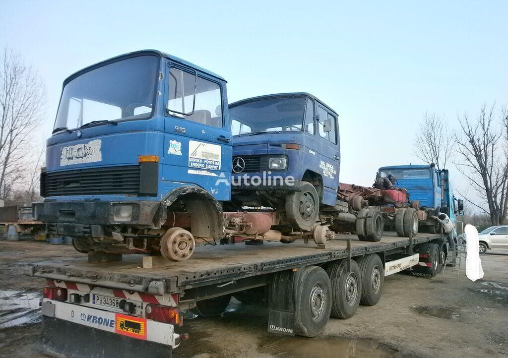 MERCEDES-BENZ 608-811-813-814-817-AGORHAZO '80 platform truck