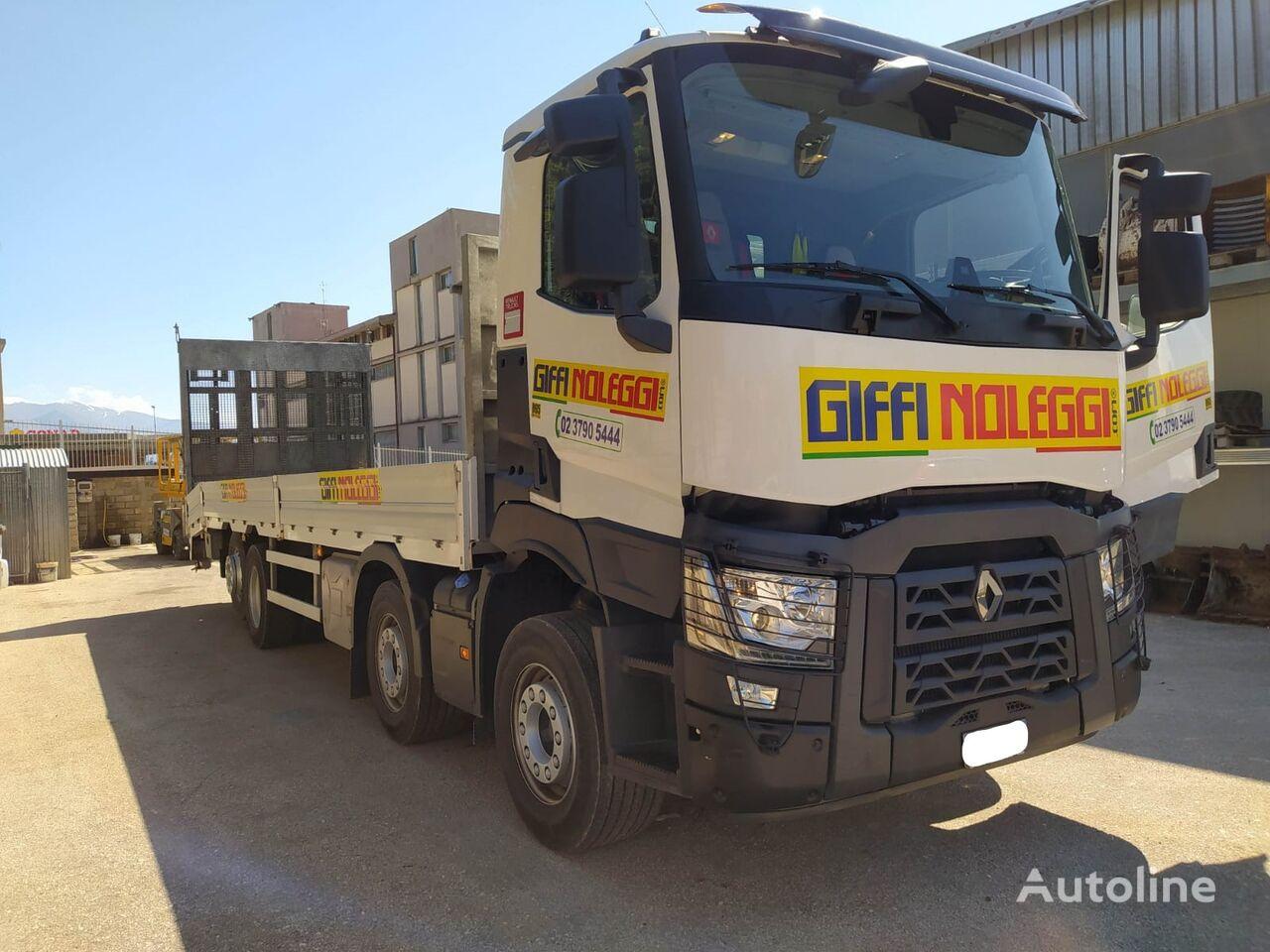 RENAULT C460 platform truck