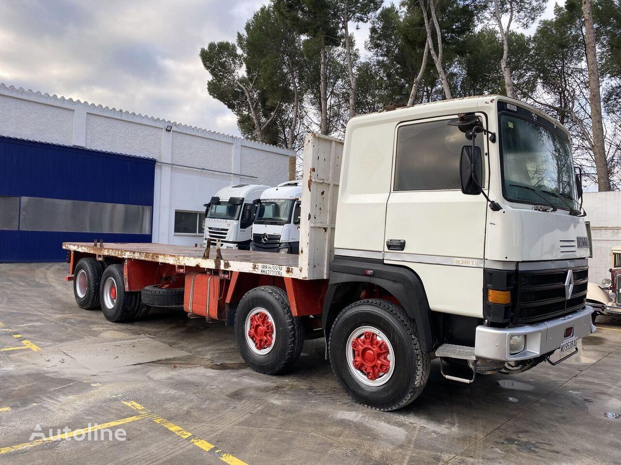 RENAULT DR340.37 platform truck