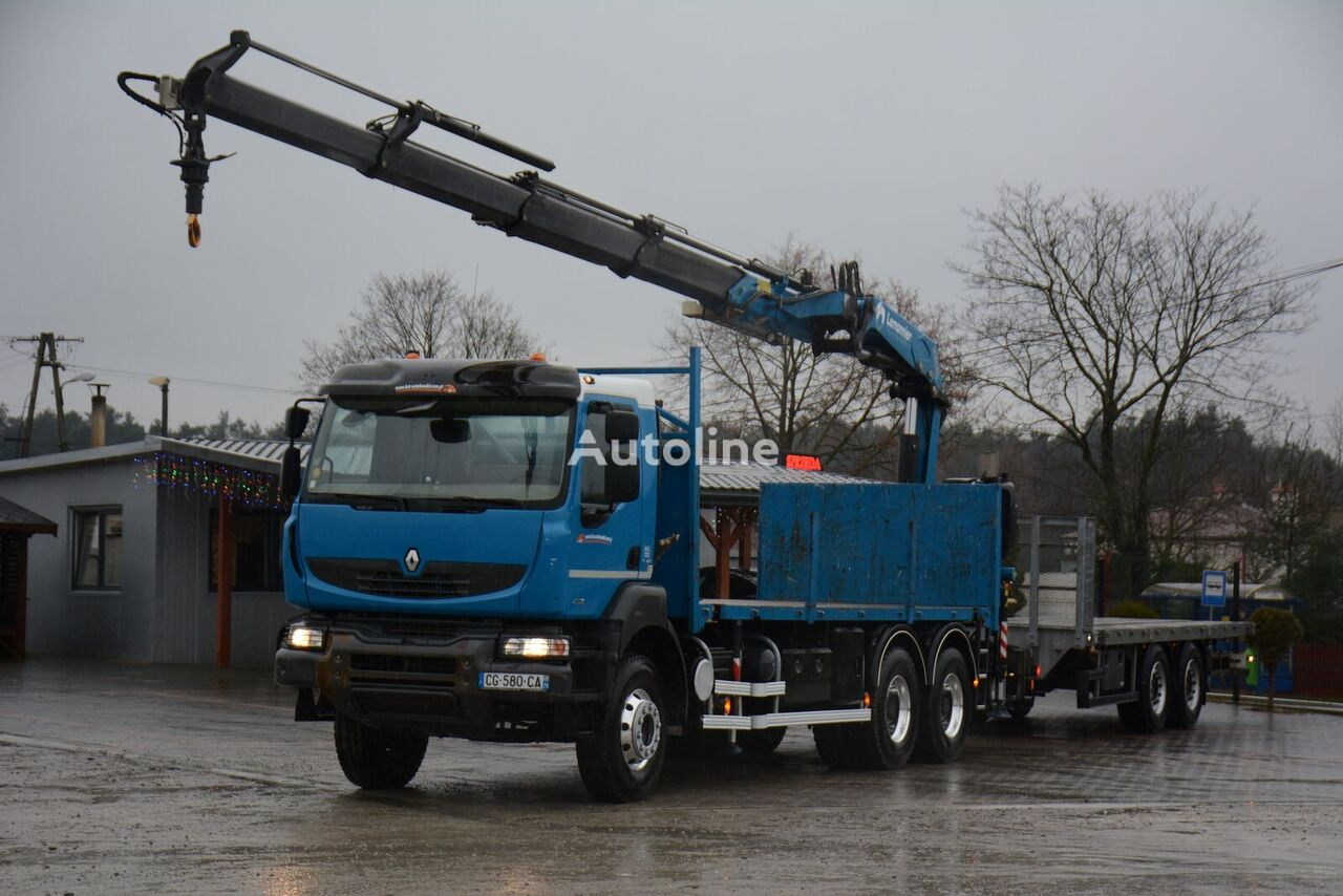 RENAULT Kerax 430 / 2012 /  platform truck