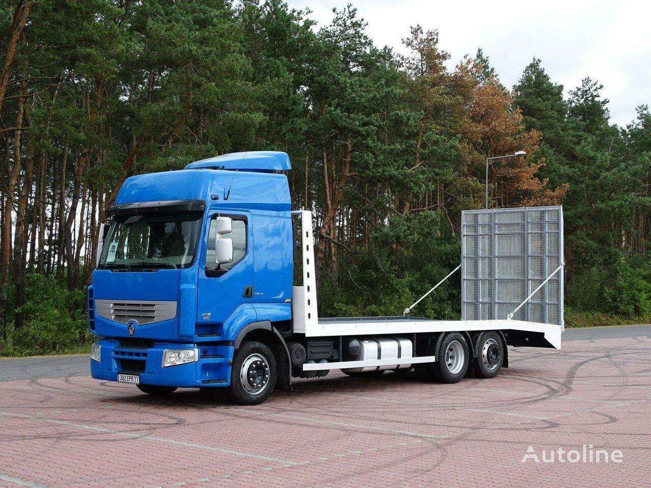 RENAULT PREMIUM 450 DXI  platform truck