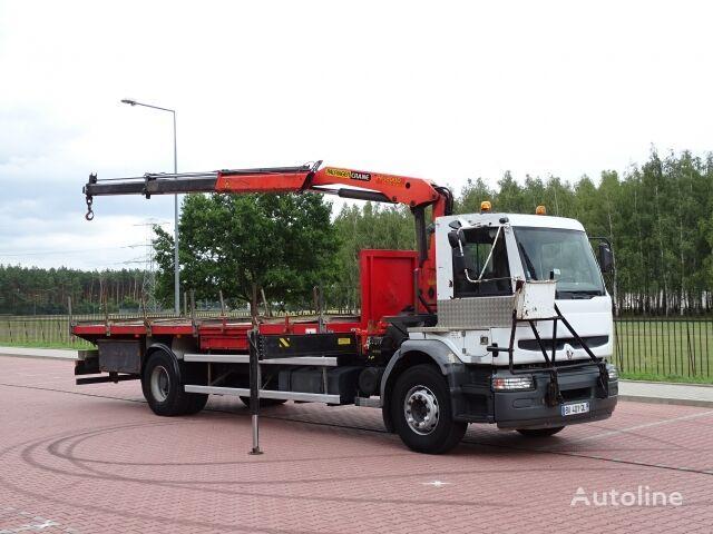 RENAULT PREMIUM HATTY 320 DCI  platform truck