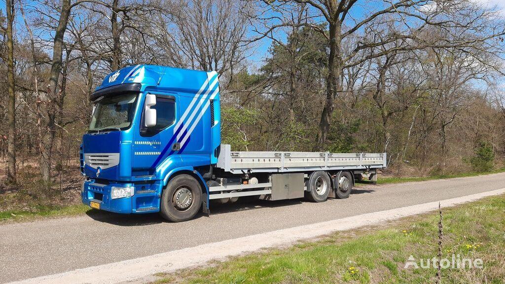 RENAULT Premium 3.70-26 6x2 platform truck