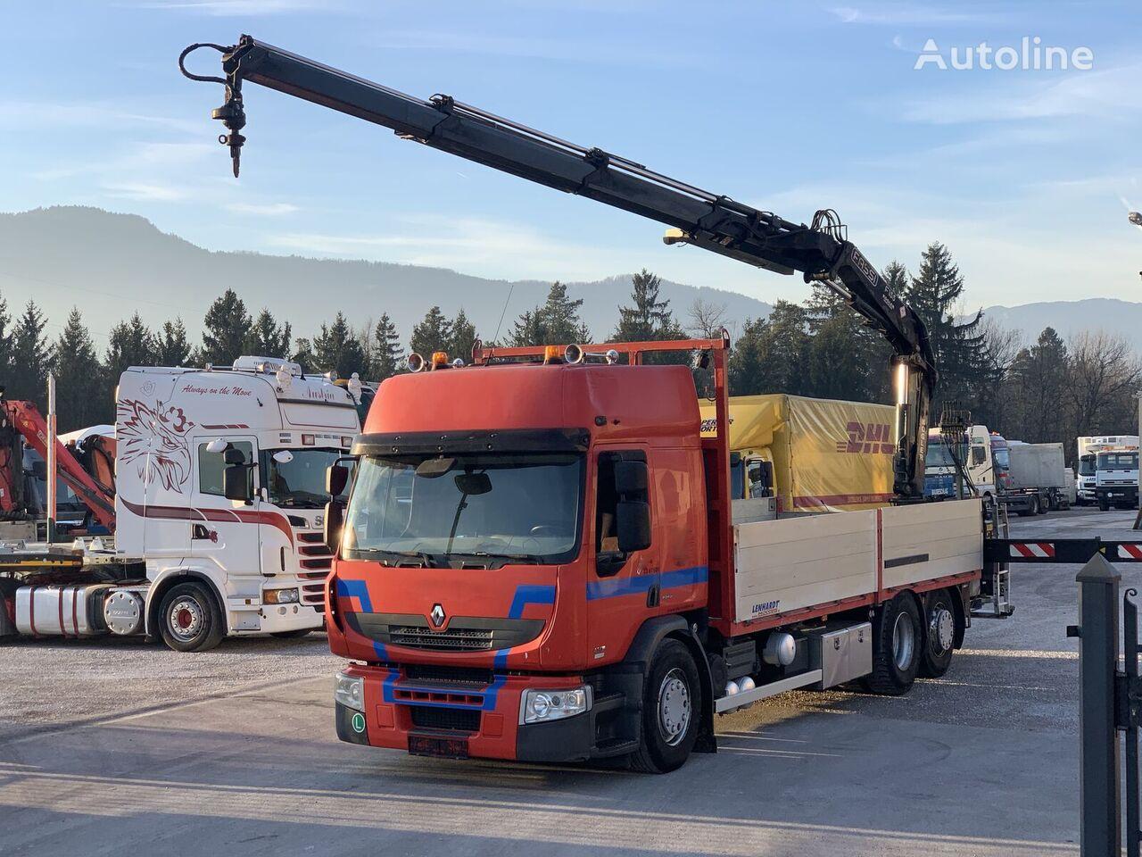 RENAULT Premium 430.26  platform truck