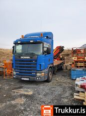 SCANIA P124 platform truck
