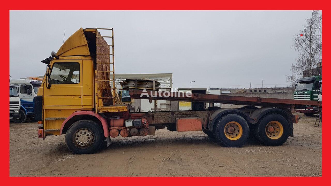 SCANIA R 142 H 6x2 Kiper platform truck