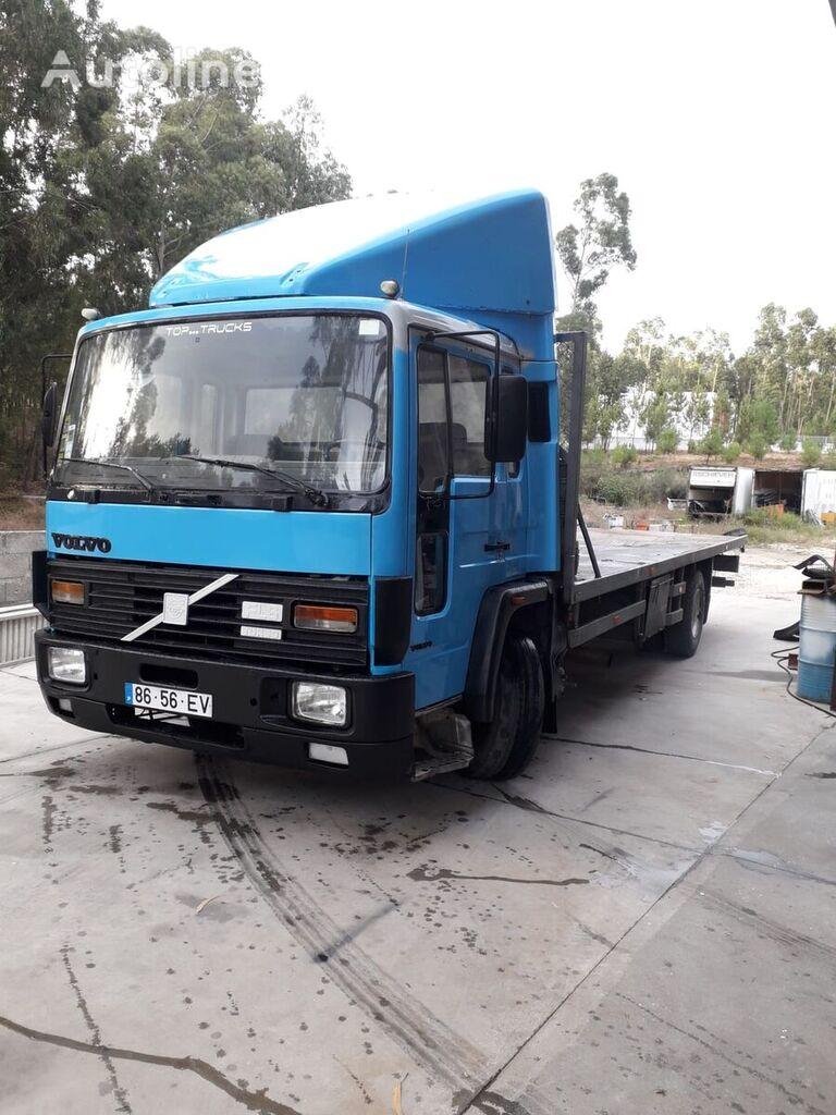 VOLVO FL6 15 platform truck