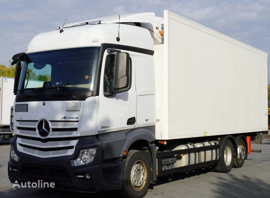 MERCEDES-BENZ Actros 2543 MP4 sprzedaż/wynajem, gwarancja, umowa serwisowa refrigerated truck